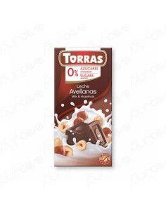 CHOCOLATE SIN AZUCAR AVELLANAS