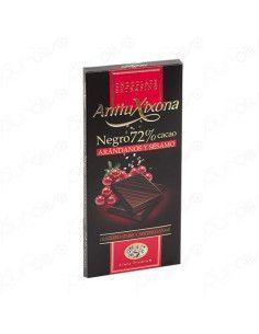 Chocolate Sabor 72% Arandanos