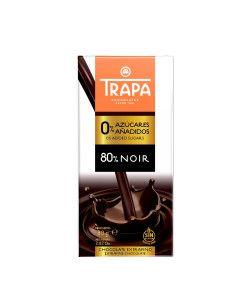 TRAPA CHOCOLATE 80 % NOIR