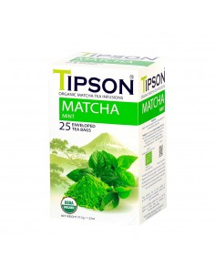 TIPSON MATCHA MENTA 25 BOLSAS