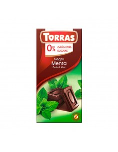 CHOCOLATE CON SABOR MENTA...