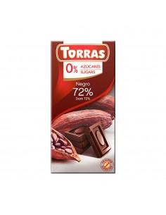 CHOCOLATE CON 72% CACAO SIN...