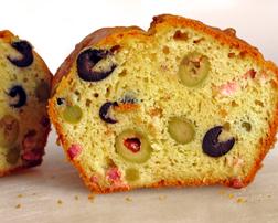 CAKE DE ACEITUNAS